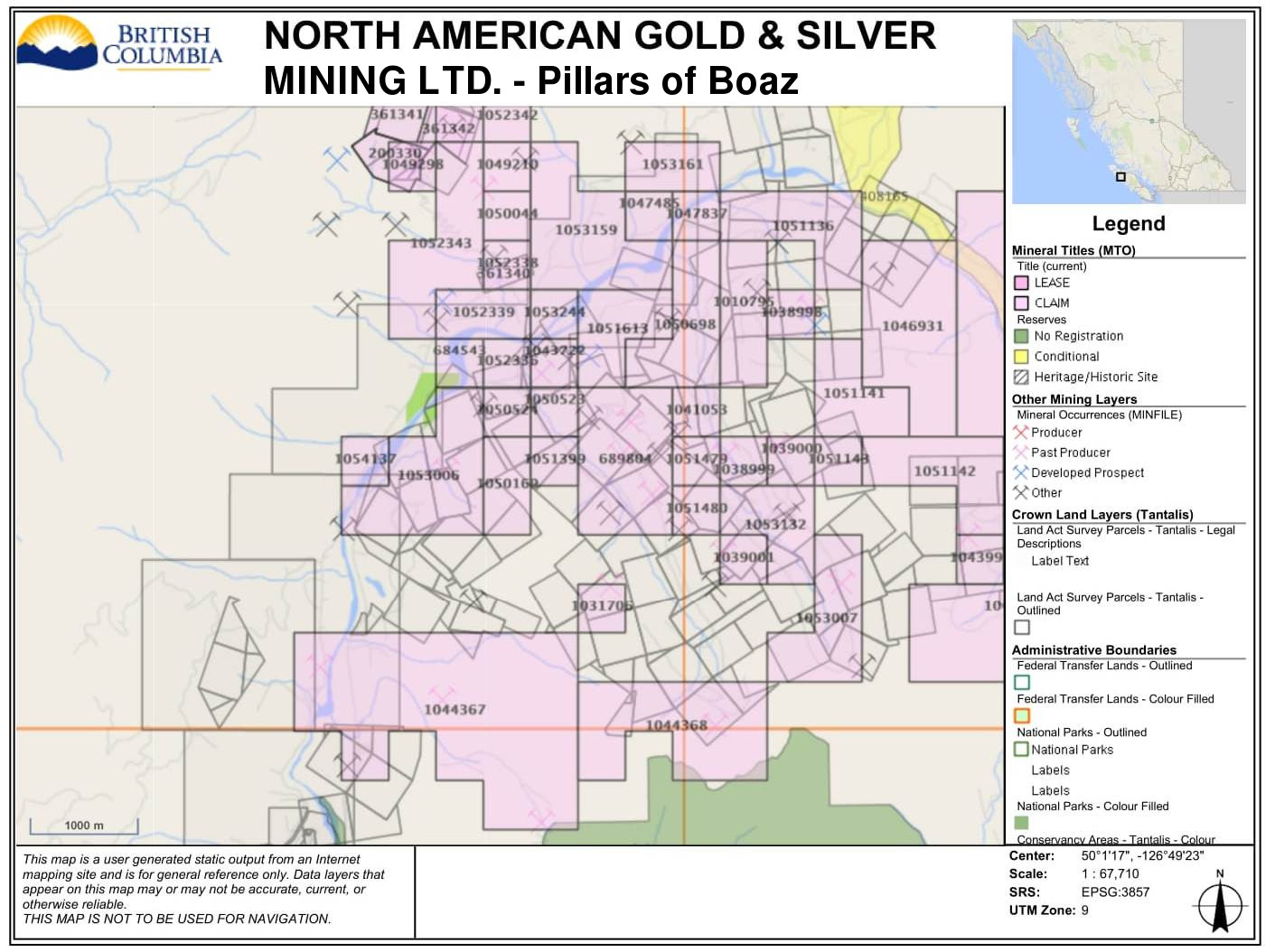 North American Gold and Silver Mining Ltd